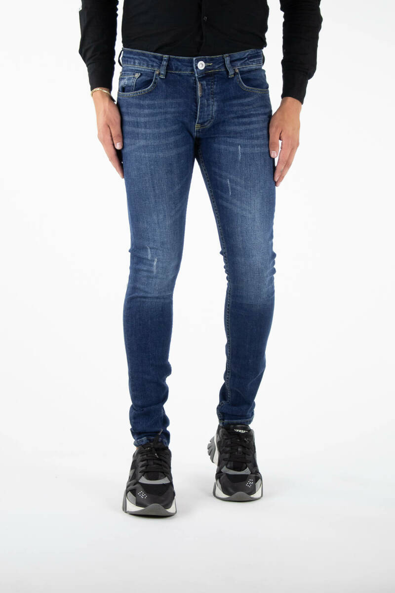 Richesse - Morlaix Deluxe Blue Jeans - Blue