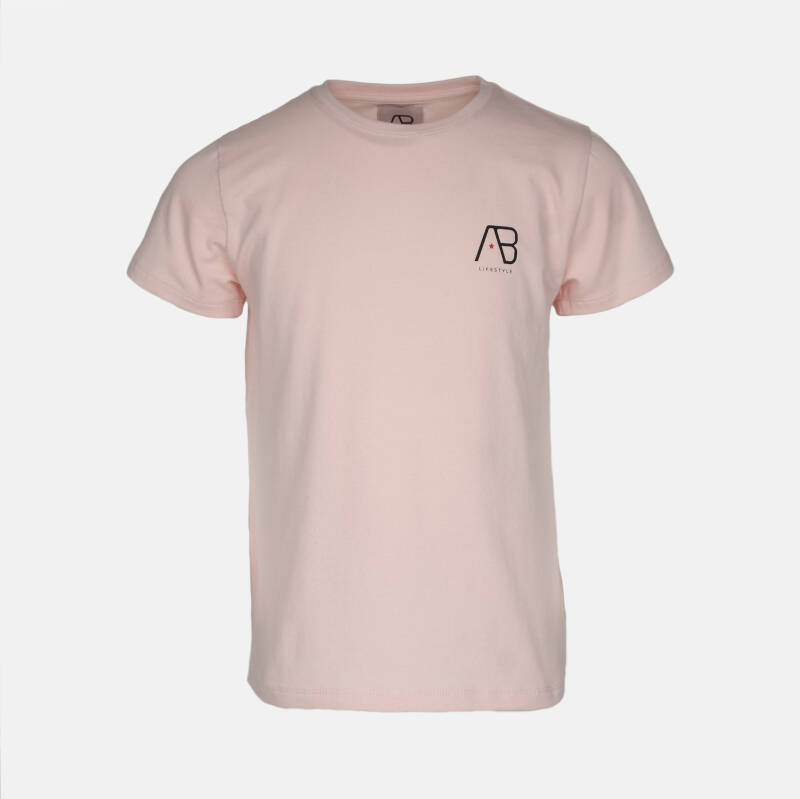 AB Lifestyle - Tee Girls Essential - Pink