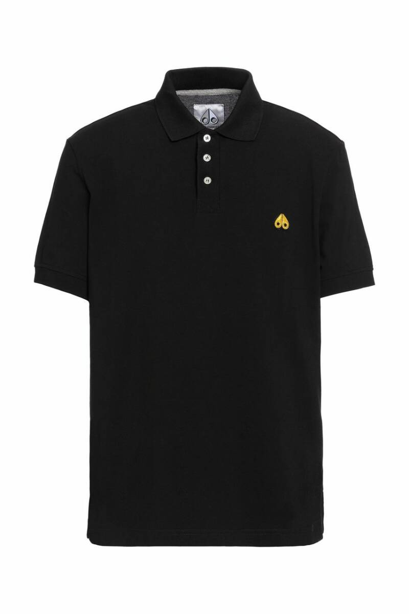 Moose Knuckles - Gold Polo - Black