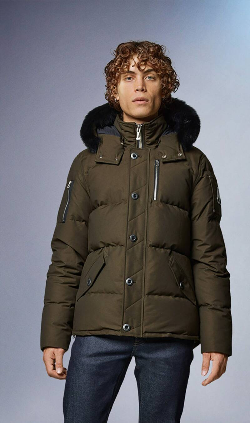 Moose Knuckles - Q3 Jacket - Army Green