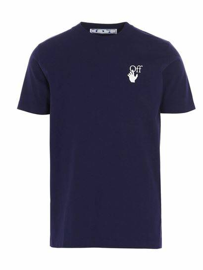 Off-White - Marker Slim Tee - Purple/White