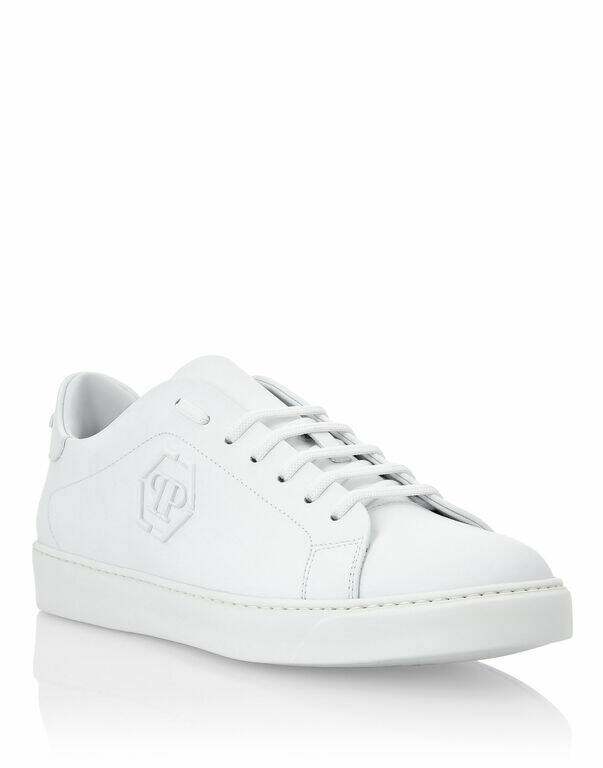 Philipp Plein - Lo-top Sneaker - White