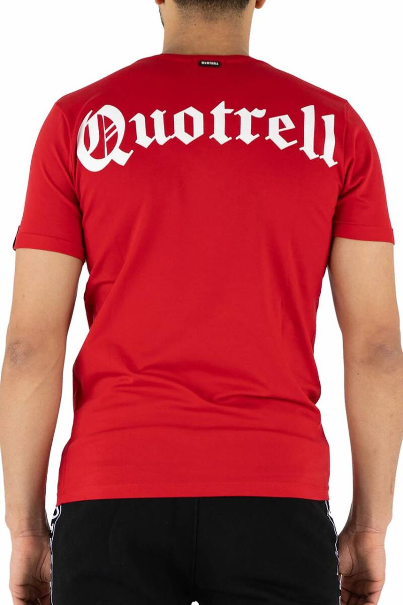 Quotrell - Wing Tee - Red