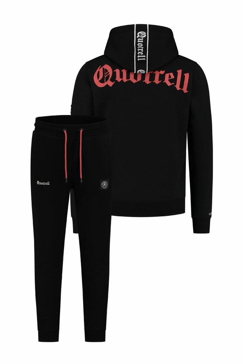 Quotrell - Commodore Tracksuit - Black