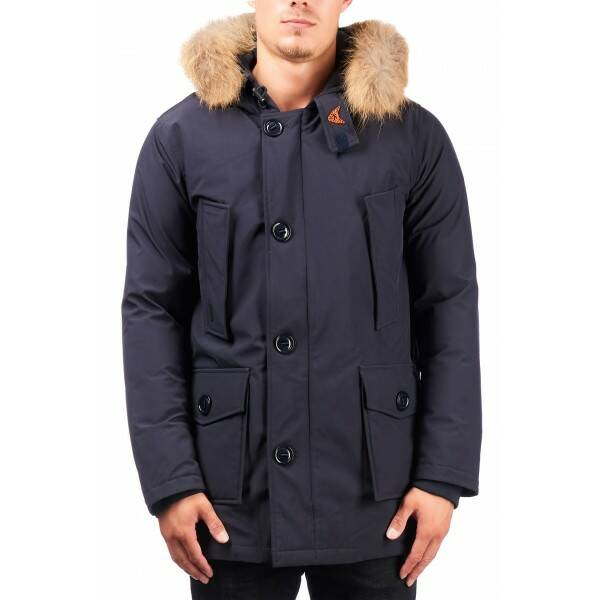 Airforce - Softshell technical 4 pocket classic - Dark Navy Blue