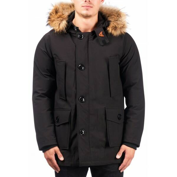 Airforce - Softshell technical 4 pocket classic - Black