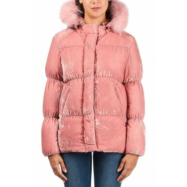 Airforce - Velvet casual jacket - Rose Taupe