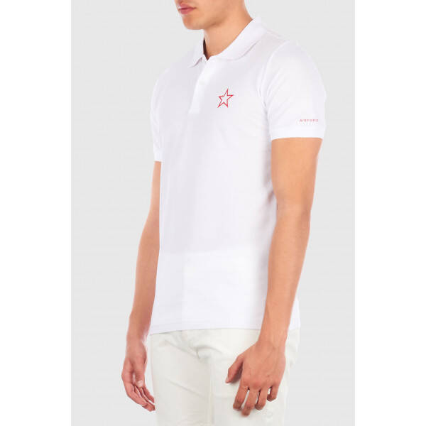 Airforce - Polo Outline Star - White