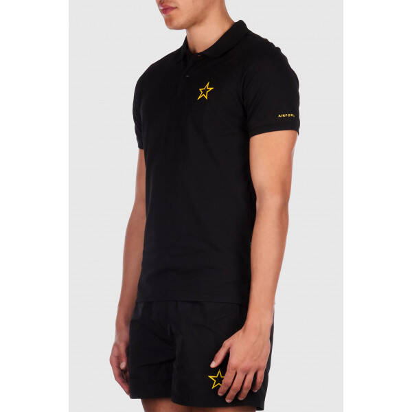 Airforce - Polo Outline Star - Black