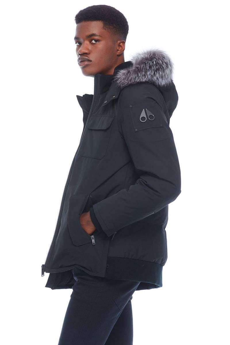 Moose Knuckles - Lingan Jacket - Black/ Frost