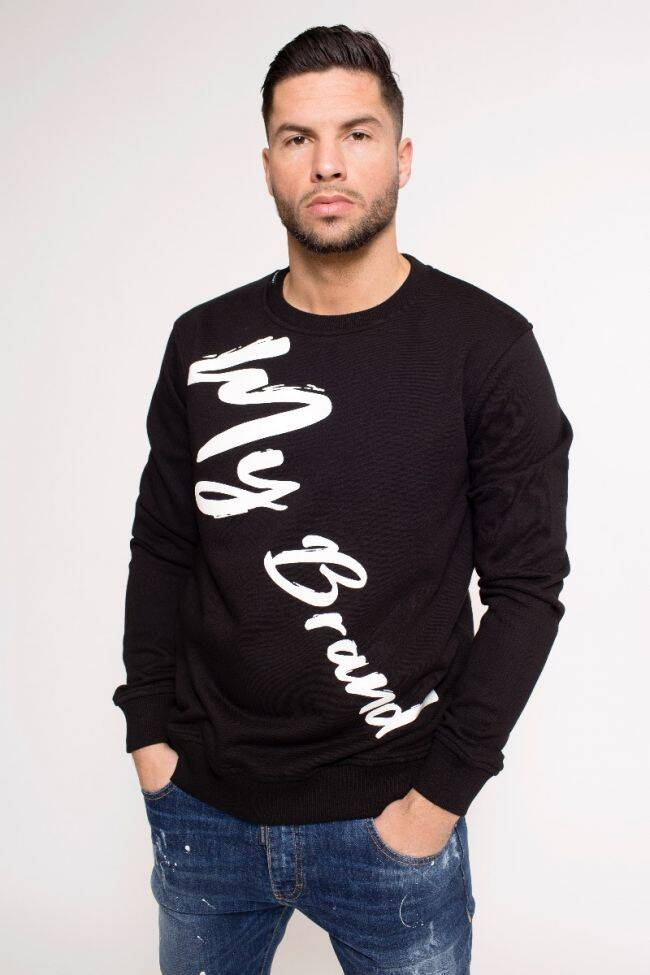 My Brand - MB Writing Sweater - Black