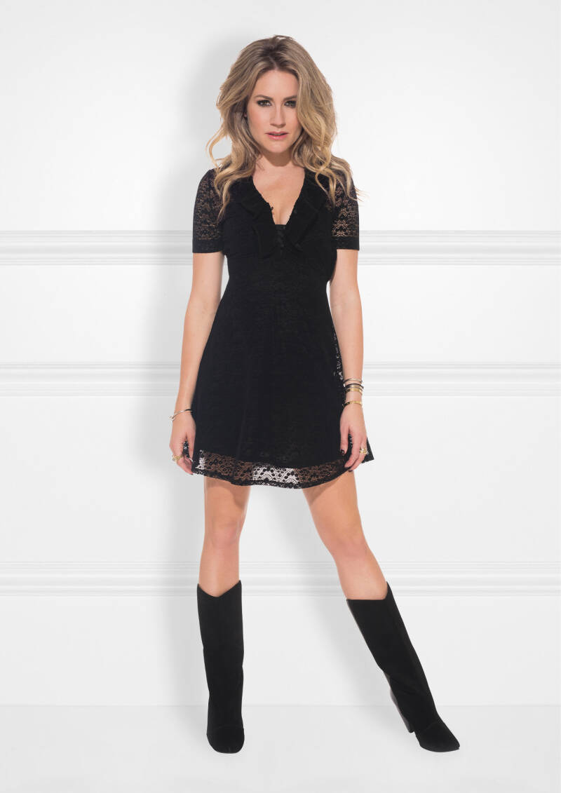 Nikkie By Kate Moss - Nynke Aline Dress - Black