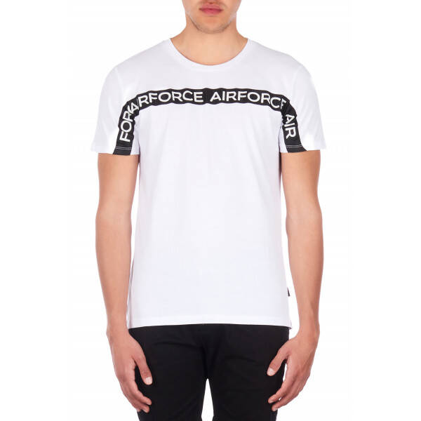 Airfroce - Tee Airforce Tape - White