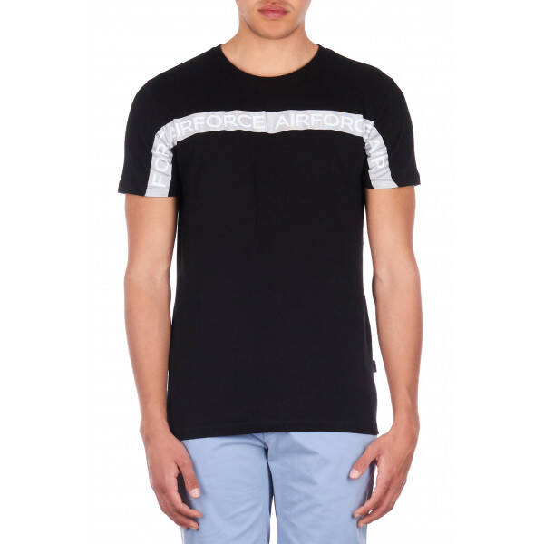 Airforce - Tee Airforce Tape - Black