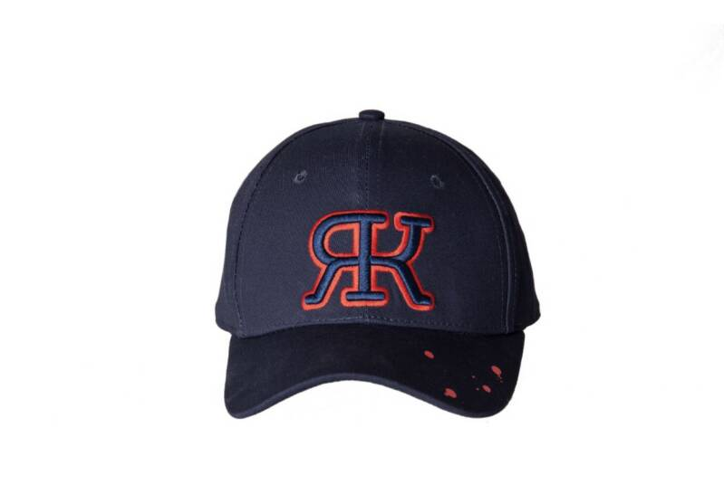 ROKA Original - Full Logo Paint Cap - Navy/ Red