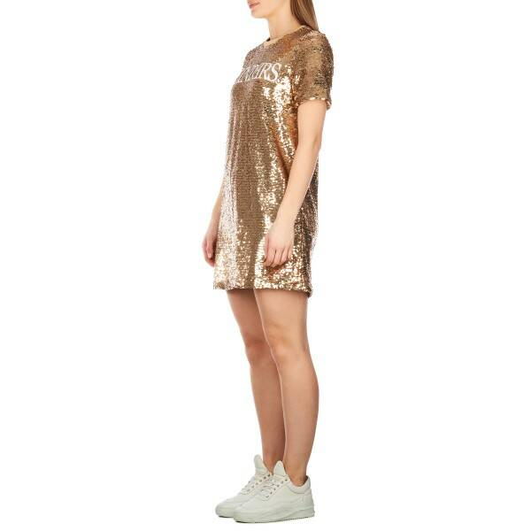 Reinders - Dress sequins - Gold/ White