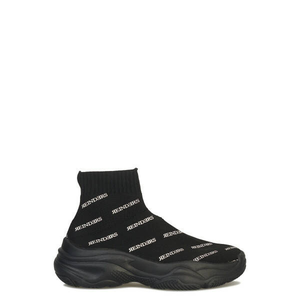 Reinders - Shoes All Over Print - Black