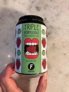 Triple Berrylicious < Frontaal (NL) = sour-fruited gose