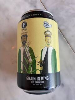 Grain is King < Frontaal (NL) + Two Chefs (NL) = DIPA