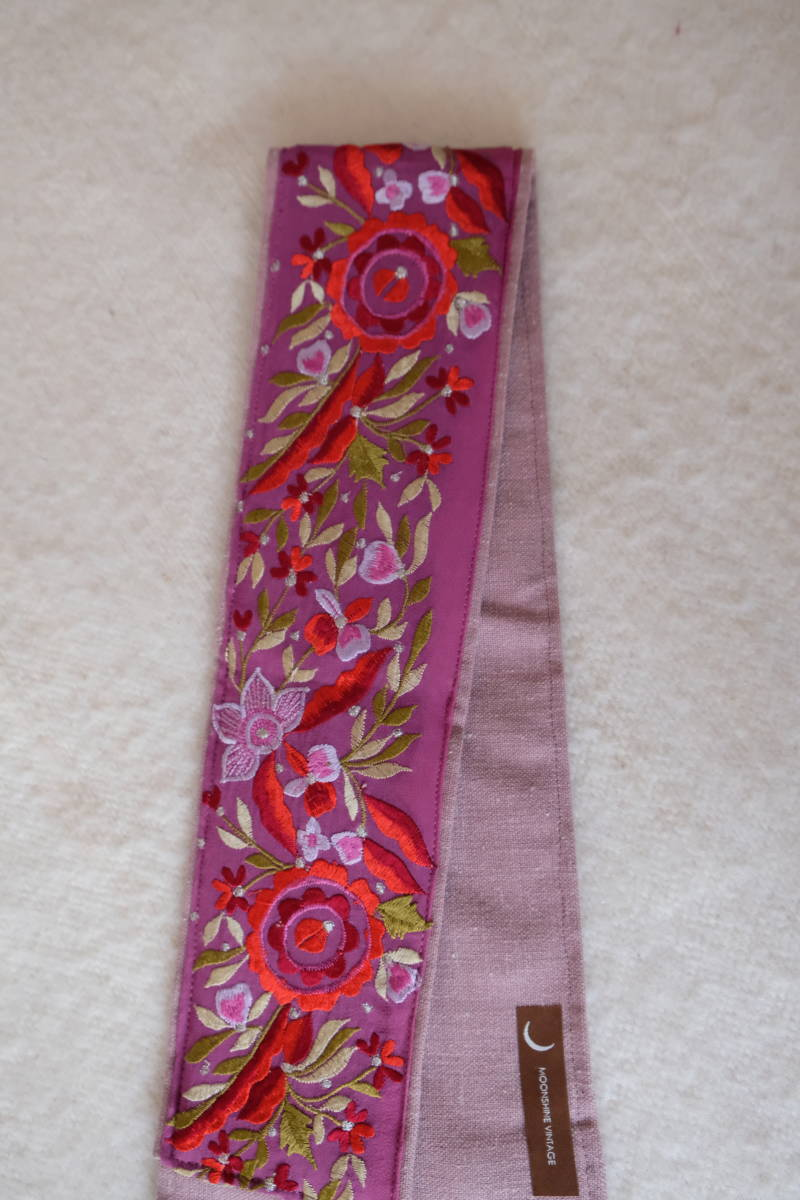 embroidered belt #5