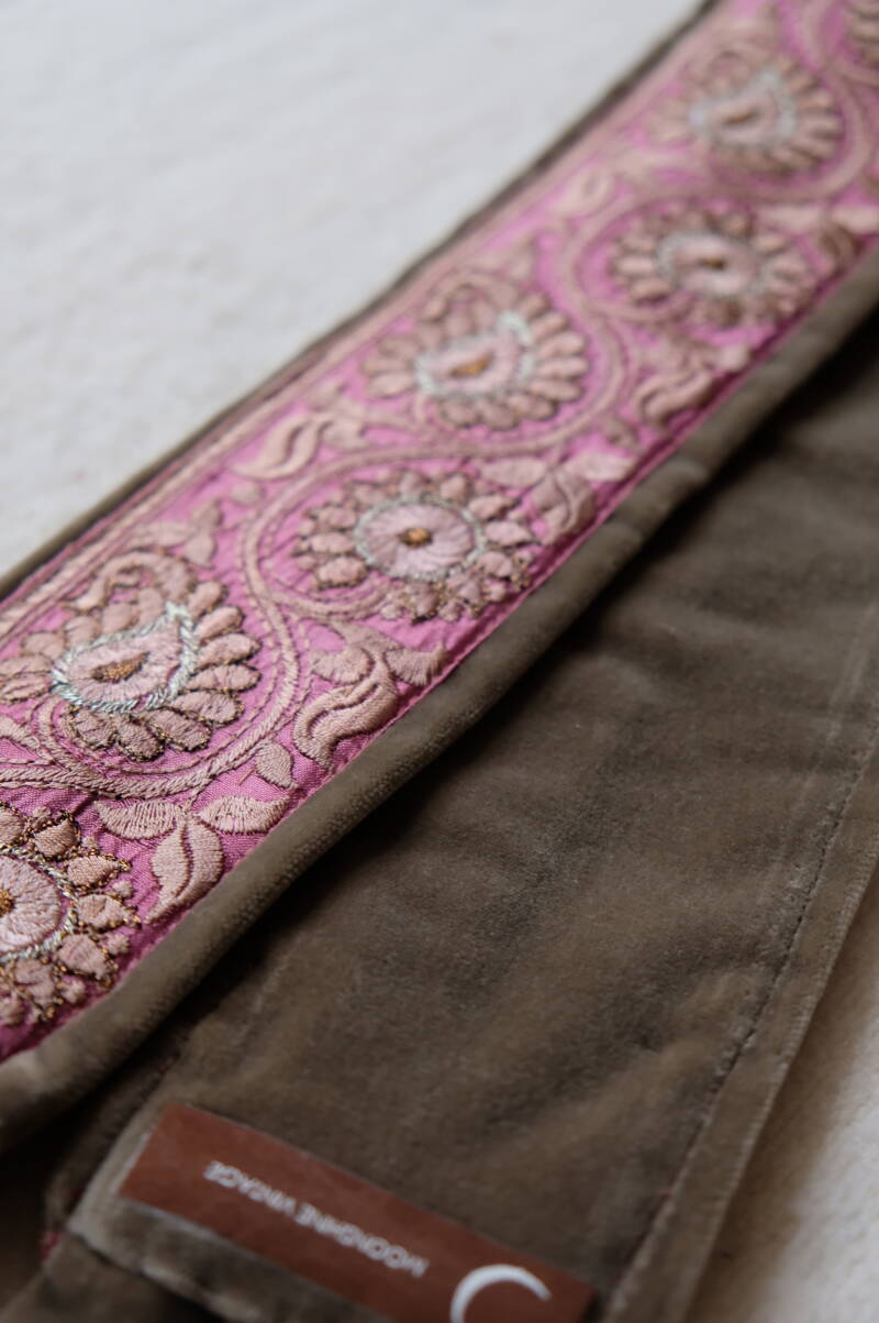 embroidered belt #24