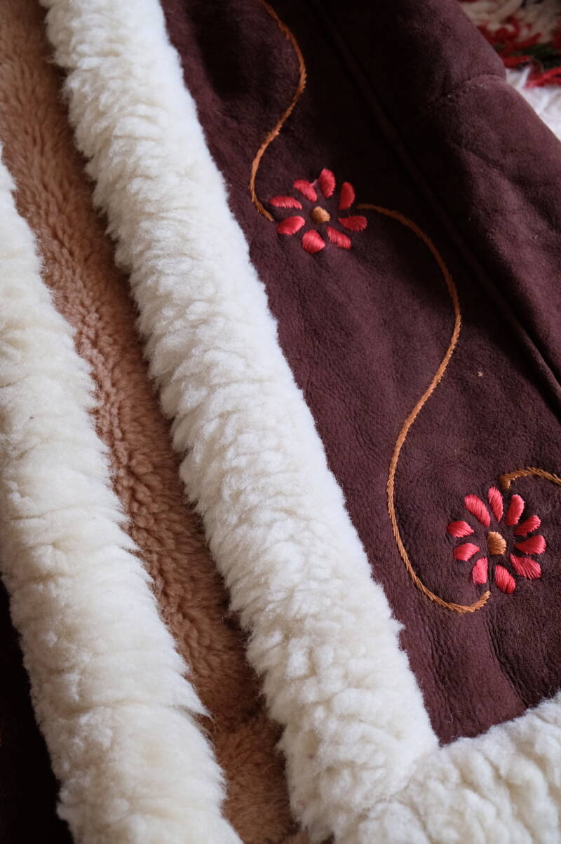 Afghan Embroidered Long Coat