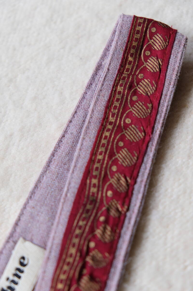 embroidered hairband/hatband