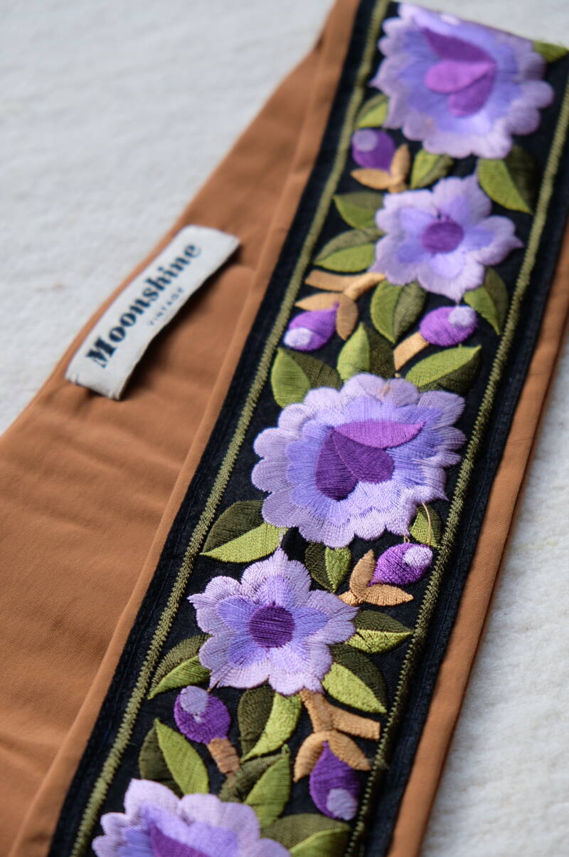 embroidered belt no.5