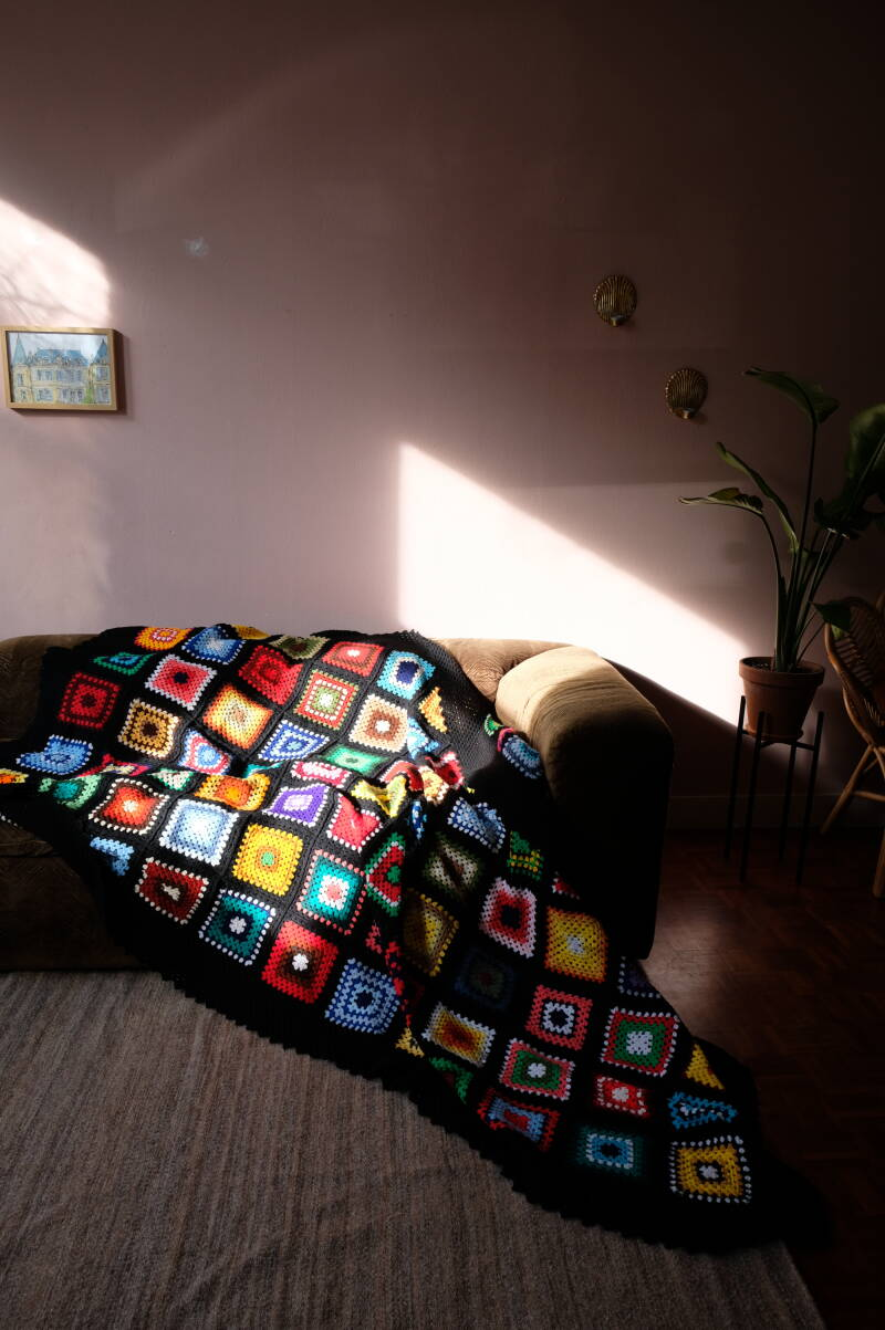 crochet blanket no. 1