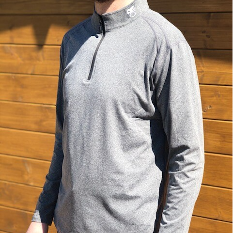 Men's 1/4 Zip - Grey