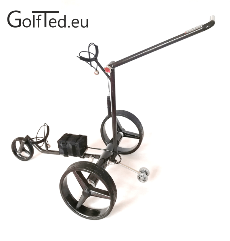 GT-CR Electric Carbon golf trolley with remote control