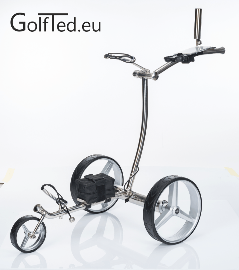 GT-R  Electric golf trolley with remote control including 6 accessories