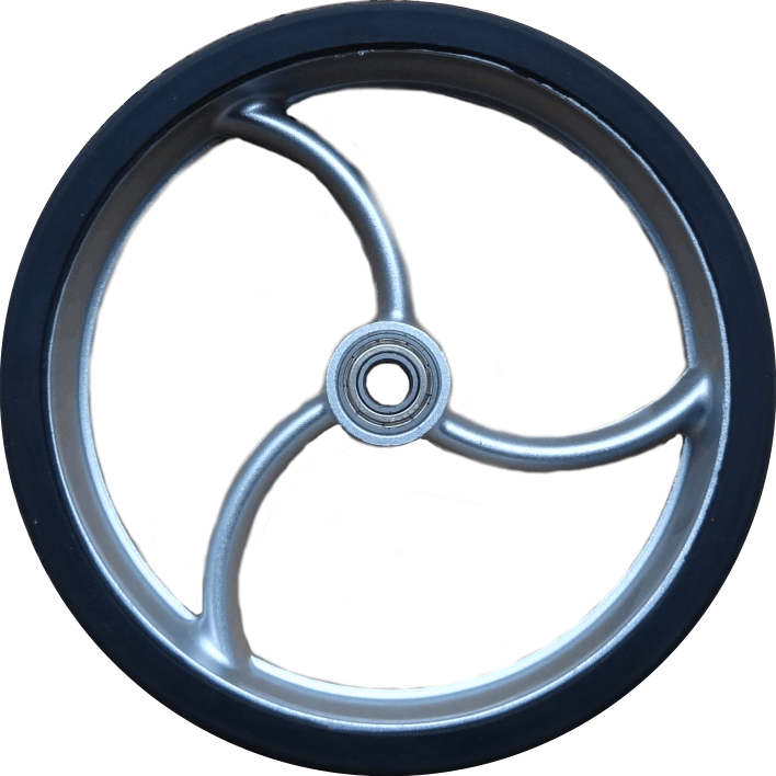 wheel small curved spoke
