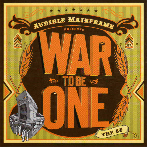 Audible Mainframe ‎– War To Be One CD