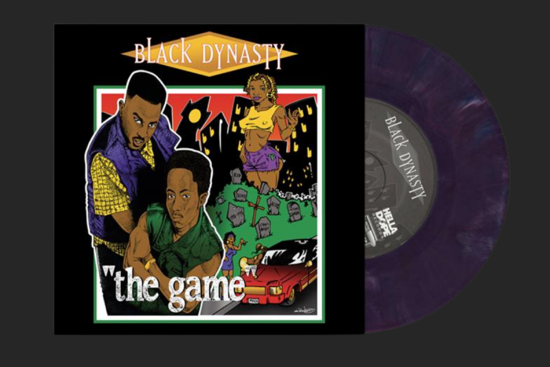 """Black Dynasty - The Game [7"""" Single]"""