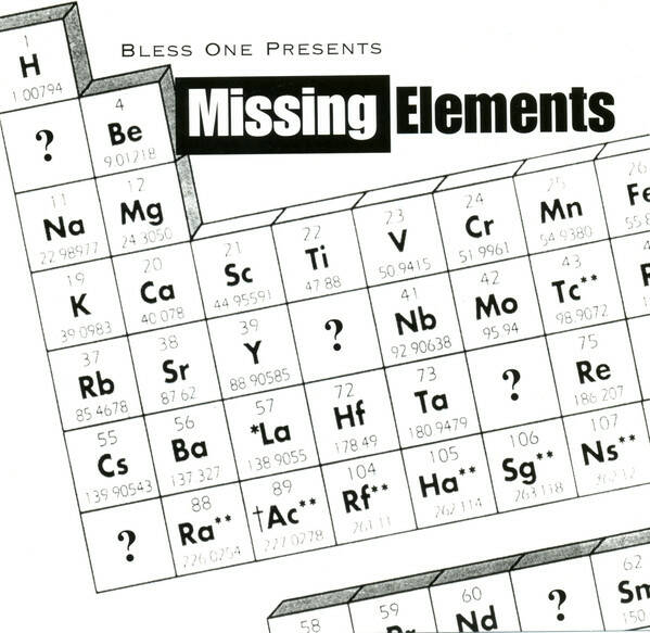 Bless One presents Missing Elements – Missing Elements CD