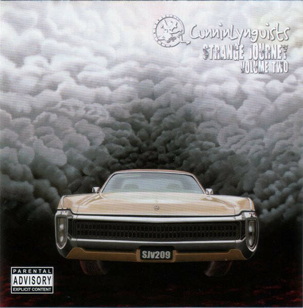 CunninLynguists ‎– Strange Journey Volume Two CD
