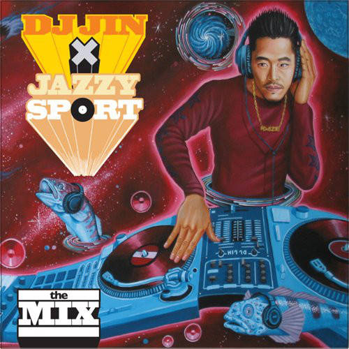 DJ Jin ‎– DJ Jin X Jazzy Sport - The Mix CD