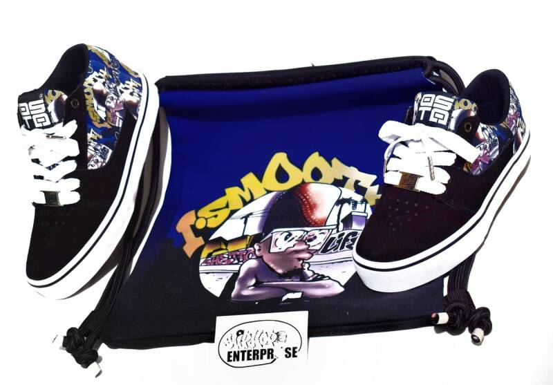 I Smooth 7 – Ghetto Life // Exclusive OG Artwork Sneakers - The price of the shoes INCLUDES worldwide express shipping