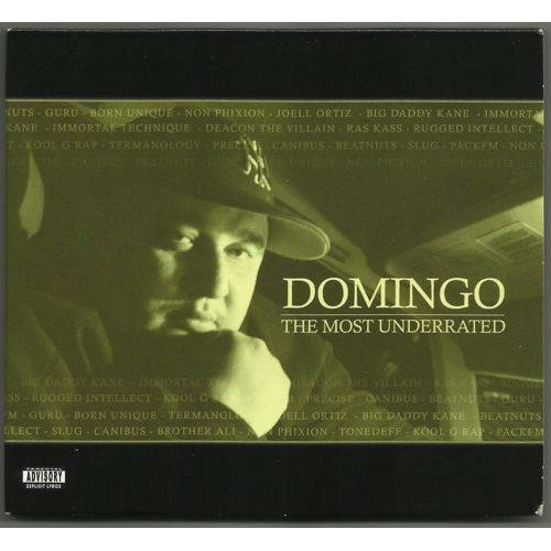 Domingo – The Most Underrated  CD