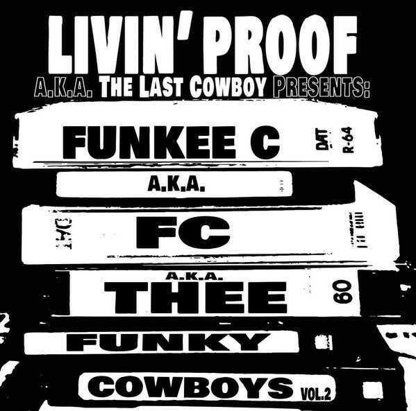 Funky Cowboys ‎– Funkee C a.k.a FC a.k.a Thee Funky Cowboys Vol. 2 CD
