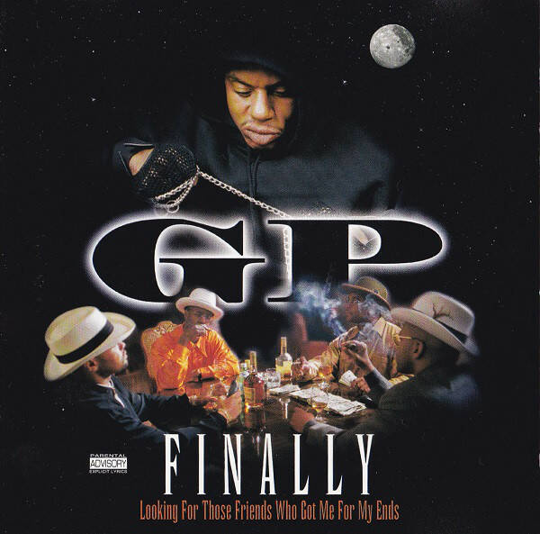 GP – Finally (Looking For Those Friends Who Got Me For My Ends) CD (OG COPIES)