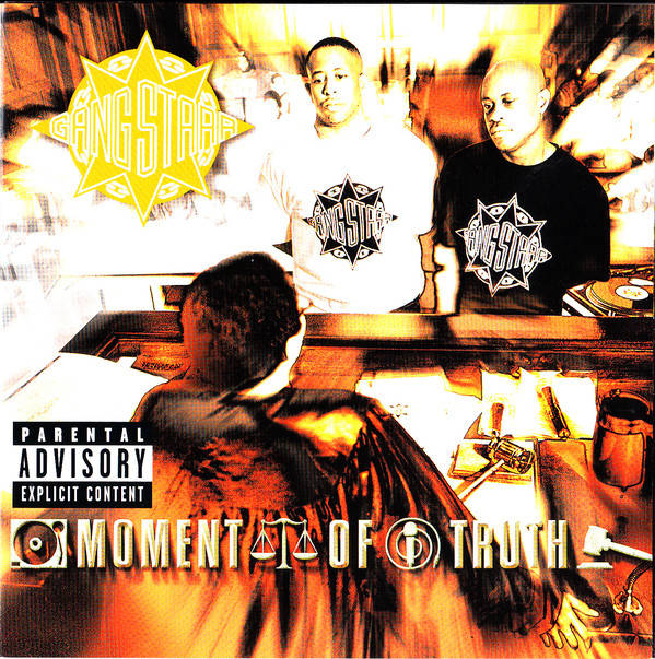 Gang Starr ‎– Moment Of Truth CD