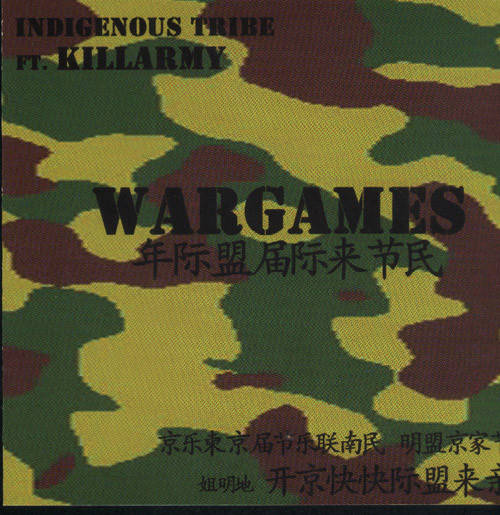 Indigenous Tribe ‎– Wargames CD, Single