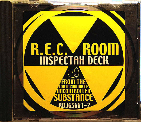 Inspectah Deck ‎– R.E.C. Room CD, Single