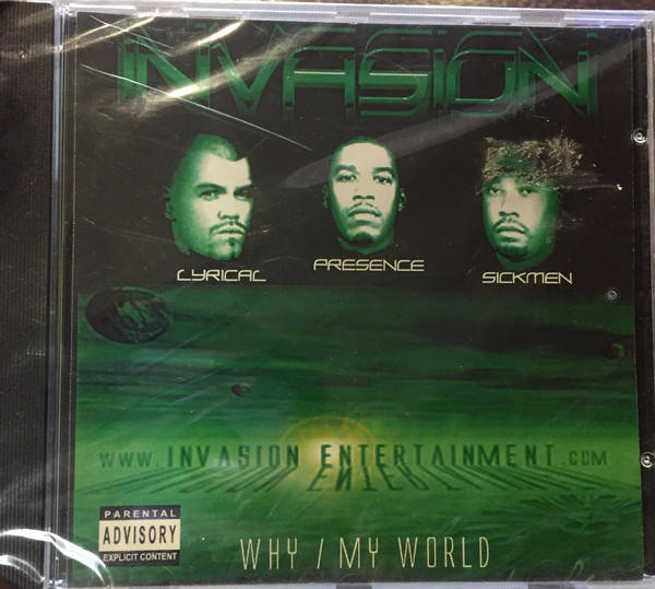 Invasion – Why / My World CD, Maxi-Single