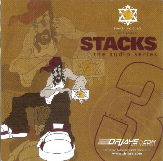 Jew-Tang Clan ‎– Jew-Tang Clan Presents Stacks The Audio Series Vol. 3 CD