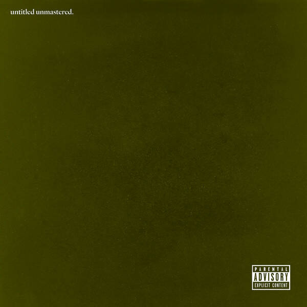 Kendrick Lamar ‎– Untitled Unmastered CD