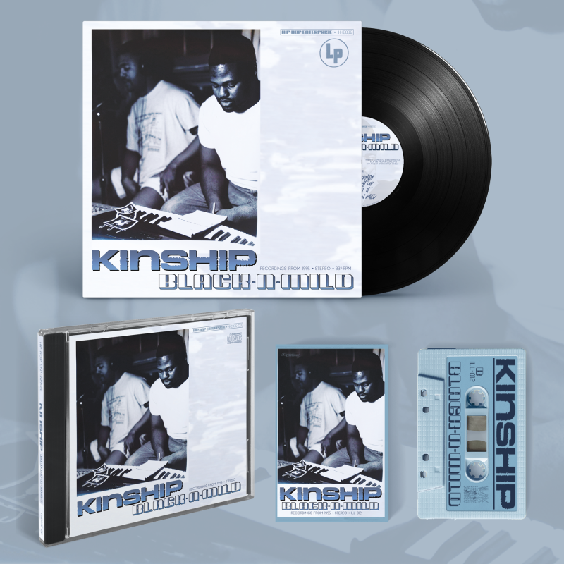 KINSHIP PACK (VINYL + CD + TAPE) ** DISCOUNTED BUNDLE