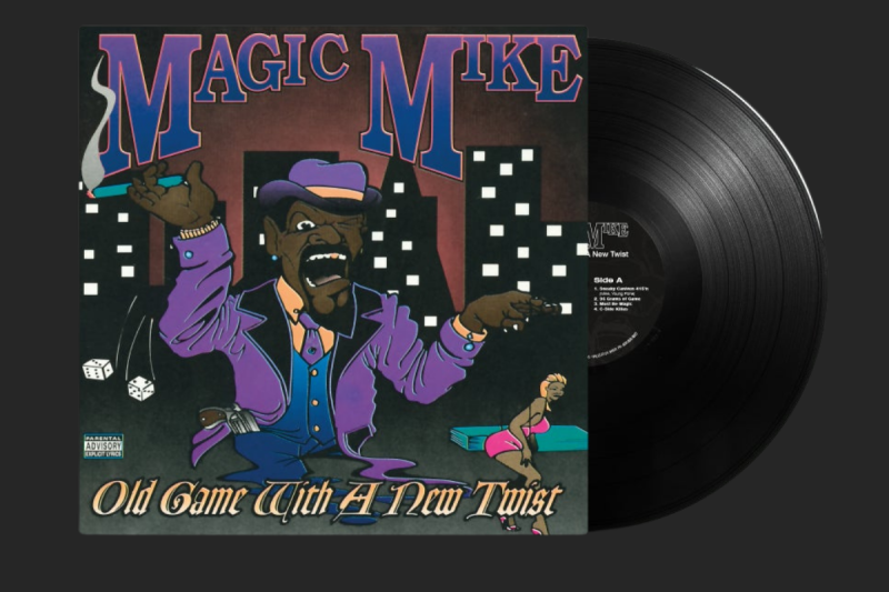 MAGIC MIKE - OLD GAME WITH A NEW TWIST (RICHMOND, CA. 1996) LP (NM COPIES)